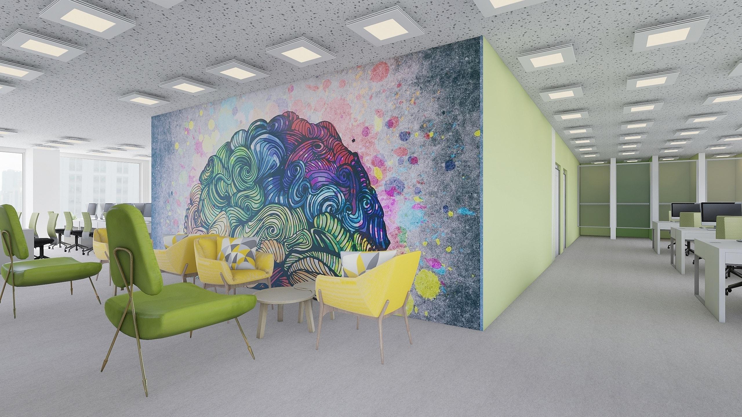 IT company agile office