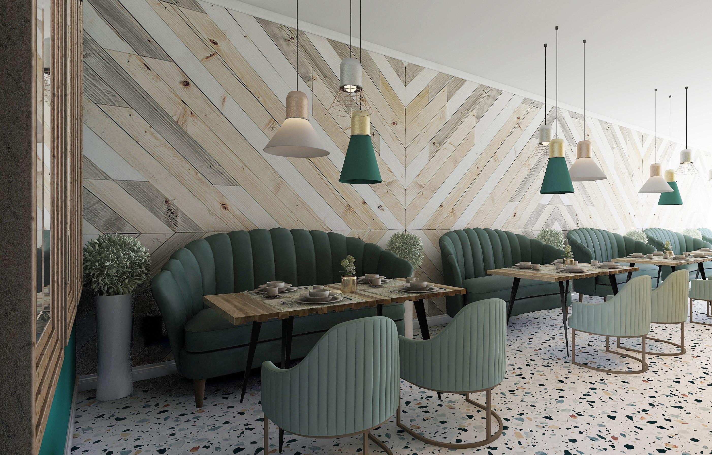 Интериорен Дизайн Ресторант