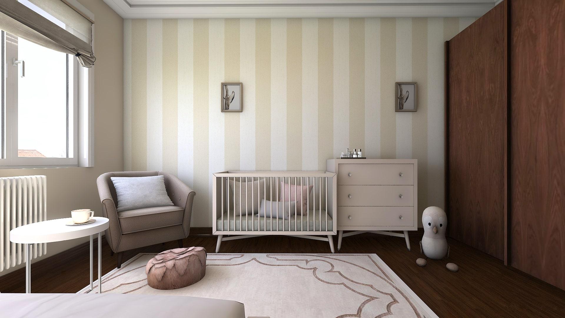 Интериор стая за новородено