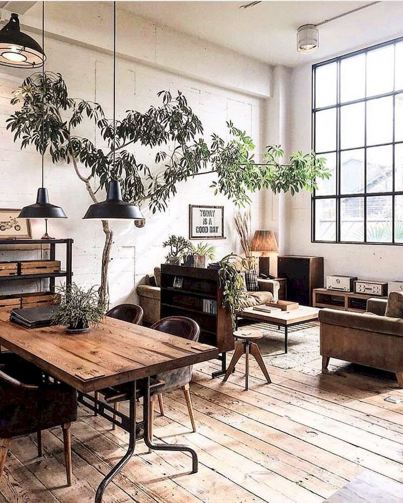 Industrial interior style